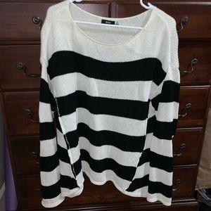 Urban Outfitters BDG Black & White Striped Sweater